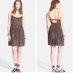 Free People ✨ Periscopes in the Sky Babydoll Dress